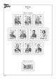 Albové listy A4 POMfila Španělsko – 1978-1989 - nezasklené (75 listů), vč.zesílených obalů, papír 160gr.