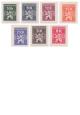 Služební známky 1945 - čisté poštovní známky - č. Sl1-7