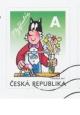Čtyřlístek - Myšpulín - razítkovaná známka A - č. 660