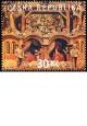 Třebechovický betlém - razítkovaná známka - č. 582