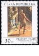Pražský hrad - Tintoretto - razítkovaná známka - č. 721
