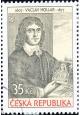 Václav Hollar - razítkovaná známka - č. 520