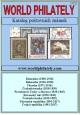 Ceník poštovních známek - katalog World Philately 2018 - 9 zn. zemí na DVD
