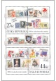 100 let československé poštovní známky - aršík - č. 982 - za nominál