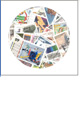 Německo - balíček poštovních známek POMfila - 100 ks