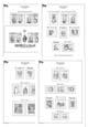 Albové listy A4 - nezasklené, SR 1993-2017, komplet, základní v. - (152 listů), vč. zesílených obalů, papír 16