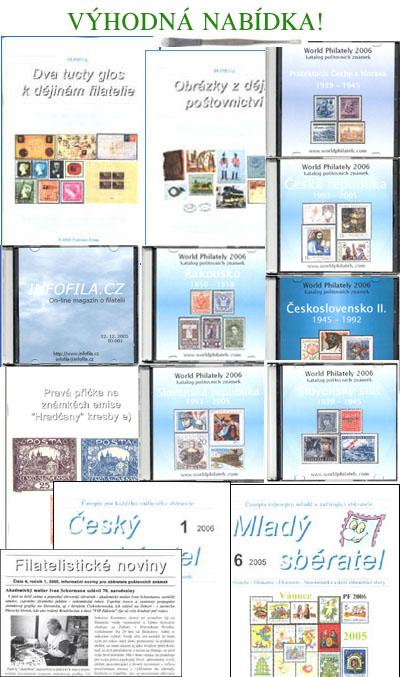 Výhodná sada: 8 CD, 3 brožurky, 3 předplatné + pinzeta