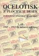 Ocelotisk z plochých desek poštovní známky a aršíky 1.díl 1945 – 1953 do měnové reformy