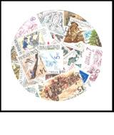 Česká republika  - balíček poštovních známek POMfila