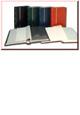 Luxusní zásobník SAFE - 32 listů / 64 stran, černé listy