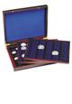 Dřevěný box na 98 ks mincí různých rozměrů