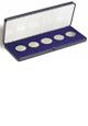 Akrylátová etue na mince do 60 mm - vnější rozměr: 200 x 80 mm