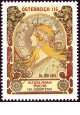 Alfons Maria Mucha - Rakousko - 1,15 Euro