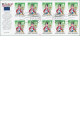 Čtyřlístek - Myšpulín - známkový sešitek - 10x 10 Kč - č. 657 - razítkované