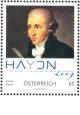J. Haydn - Rakousko - 0,65 Euro