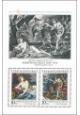 Poklady Národní galerie v Praze - Sebastiano Ricci - čistý - aršík - č. A2861/2B - s přítiskem