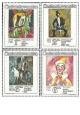 Cirkusy a varieté - čistá - č. 2768-2771