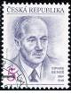 110. výročí narození Edvarda Beneše - razítkovaná - č. 38