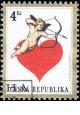 Láska - razítkovaná - č. 169