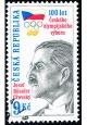 100. výročí českého olympijského výboru - razítkovaná - č. 215