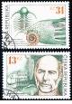 Joachim Barrande a čeští trilobiti - razítkovaná - č. 222-223