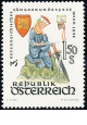Rakousko - čistá - č. 1043