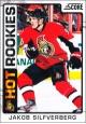 Hokejové karty SCORE 2012-13 - Rokkie - Jakob Silfverberg - 504