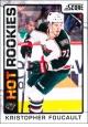 Hokejové karty SCORE 2012-13 - Rokkie - Kristopher Foucault - 510