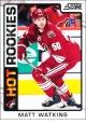 Hokejové karty SCORE 2012-13 - Rokkie - Matt Watkins - 546