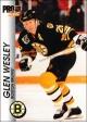 Hokejové karty Pro Set 1992-93 - Glen Wesley - 10