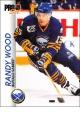 Hokejové karty Pro Set 1992-93 - Randy Wood - 20