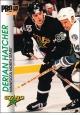 Hokejové karty Pro Set 1992-93 - Derian Hatcher - 75