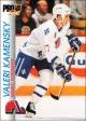 Hokejové karty Pro Set 1992-93 - Valeri Kamensky - 148