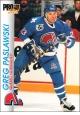 Hokejové karty Pro Set 1992-93 - Greg Paslawski - 155