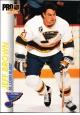 Hokejové karty Pro Set 1992-93 - Jeff Brown - 158