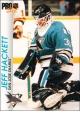 Hokejové karty Pro Set 1992-93 - Jeff Hackett - 171