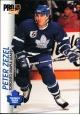 Hokejové karty Pro Set 1992-93 - Peter Zezel - 187