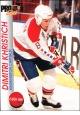 Hokejové karty Pro Set 1992-93 - Dimitri Khristich - 208