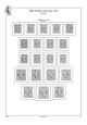 Anglo-americká zóna (Bi-Zone) 1945-1949, A4, papír 160 g (14 listů)  - bez obalů