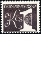 Svitkové výplatní známky - 1 Kčs - č. 2399yc - černohnědá - čistá