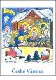 Josef Lada - Vánoce - pohlednice - Jesličky 1928