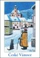 Josef Lada - Vánoce - pohlednice - Ponocný 1947