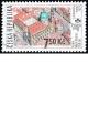 Světová výstava poštovních známek PRAGA 2008 - PRAHA – Malá Strana 750 let  - č. 508 - razítkovaná