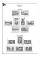 Albové listy A4 POMfila Francie – 1849-1944 - nezasklené (52 listů), vč.zesílených obalů, papír 160gr.