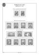 Albové listy A4 POMfila RSFSR  - 1917-1923 - nezasklené (10 listů), vč.zesílených obalů, papír 160gr.
