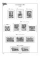 Albové listy A4 POMfila SSSR  - 1950-1956 - nezasklené (57 listů), vč.zesílených obalů, papír 160gr.