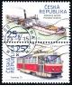 Historické dopravní prostředky - razítkované známky - č. 861-862