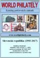 Katalog poštovních známek - Slovenská republika (1993-2017) - World Philately 2018 na CD-ROM médiu