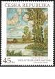Umělecká díla na známkách - Václav Radimský - 45 Kč - č. 1034 - za nominál