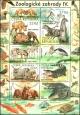 Ochrana přírody - Zoologické zahrady IV - aršík - č. A1038 - za nominál